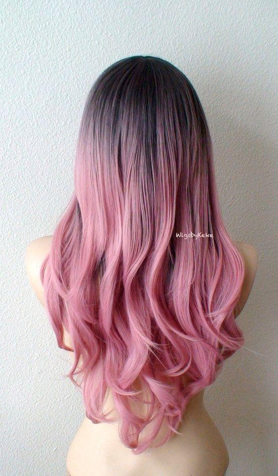 Pink Highlights Pink Hair Streaks Pink Hair Highlights Hair Color Light Brown