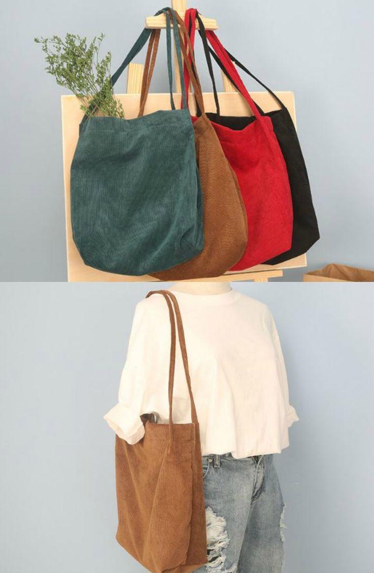 7a610d0df3dc2 TangTangBags - Corduroy Shopper Bag  shopperbag  bag  flashdeal ...