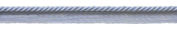 "Small 3/16"" Light Blue, Basic Trim Lip Cord, Sold by The Yard , Style# 0316S Color: Artic Blue - N14"
