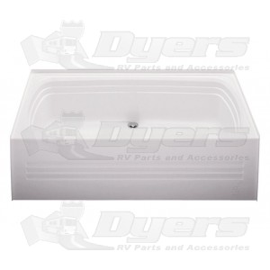 Bath Tub Center Drain White 27 X 54 Bathtub Tub Sizes Tub
