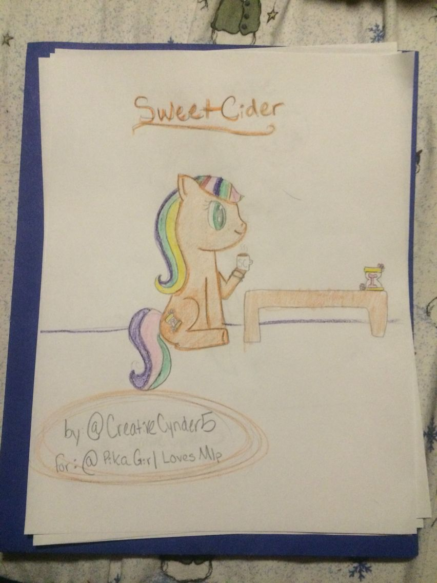 """""""Sweet Cider"""" by @CreativeCynder5 for @Pika Girl Loves Mlp!"""