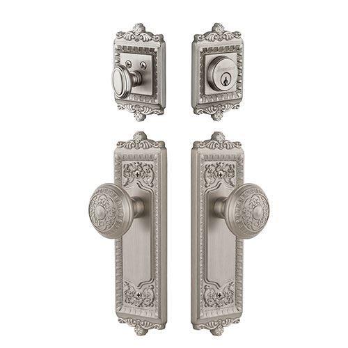 Grandeur Windsor Entry Door Set With Windsor Knob - Keyed Alike  sc 1 st  Pinterest & Grandeur Windsor Entry Door Set With Windsor Knob - Keyed Alike ...