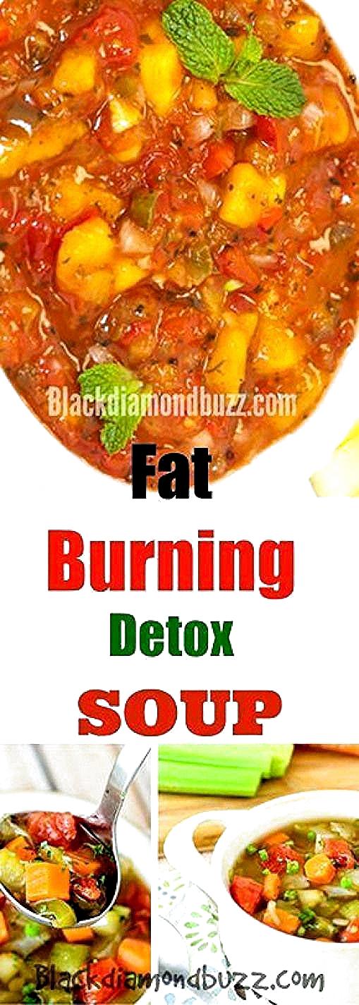 Gewichtsverlust Detox Suppe Rezepte Fettverbrennung Gemüsemahlzeiten für Gewichtsverlust und diät ät