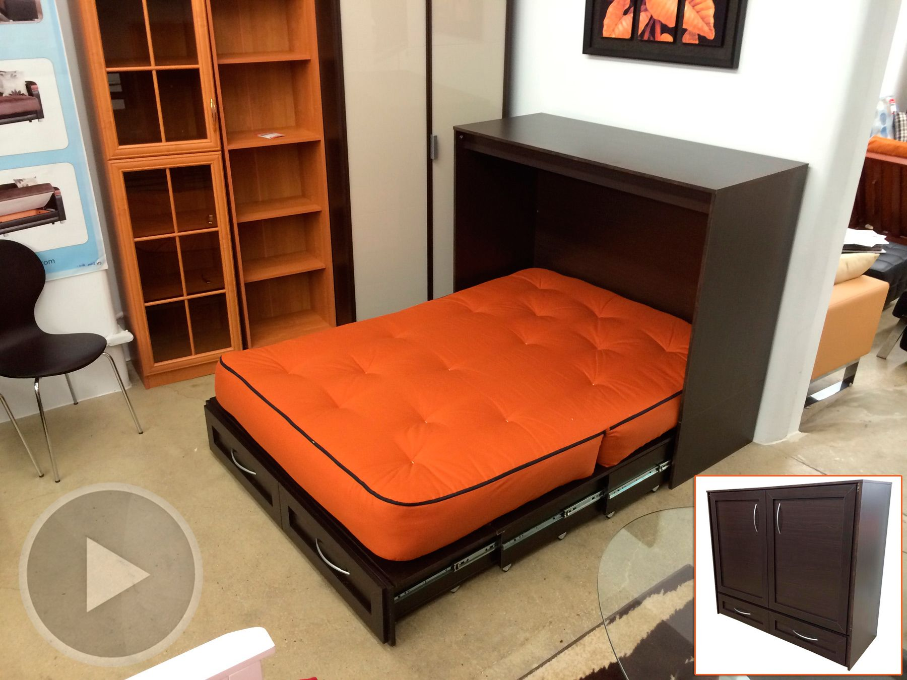 murphy beds Murphy Bed Alternative Bed in Full