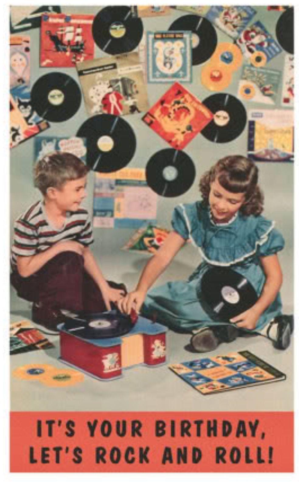 Happy Birthday rhs  Happy birthday vintage, Vintage birthday