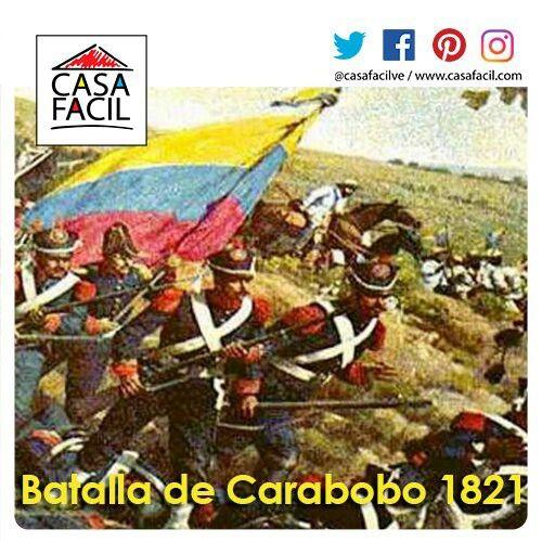 Hoy se conmemoran 195 años de la Batalla de Carabobo, hecho histórico que influyo en el proceso de Independencia.