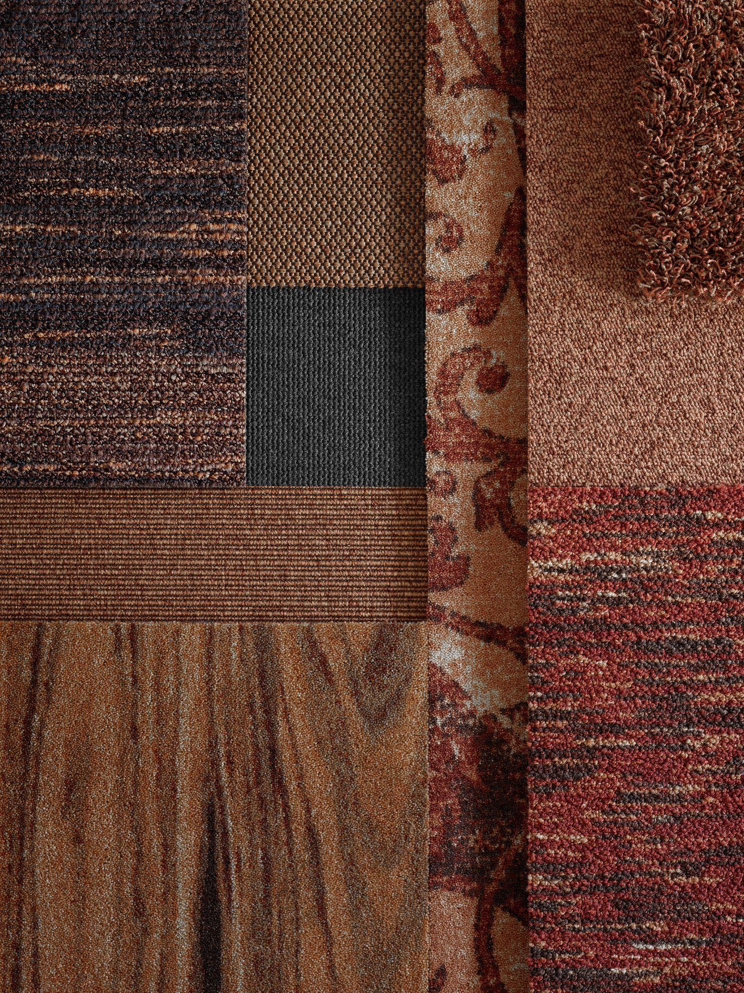 Mix Match Copper Carpet Tiles Carpet Tiles
