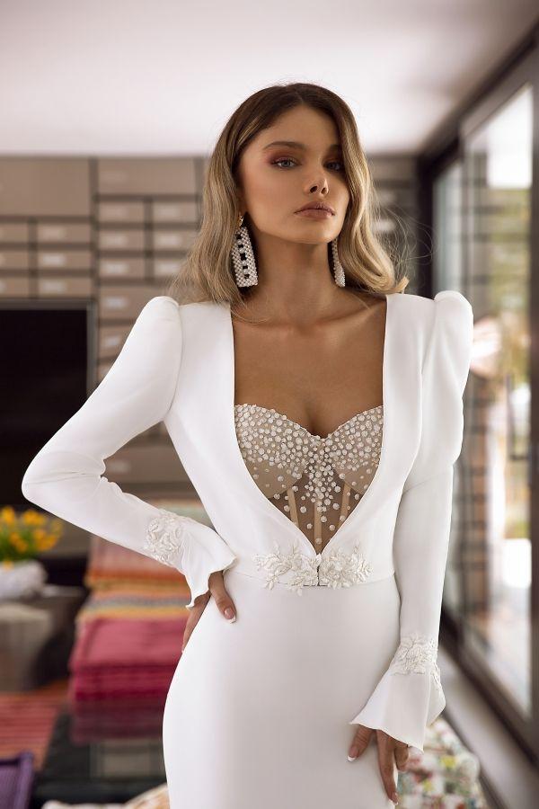 wedding dress amber