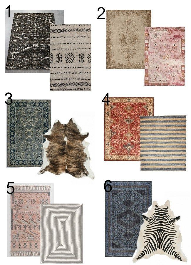 Design Dilemma – How to Coordinate Area Rugs in Your Home