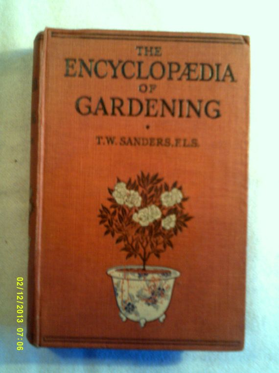 Lot Of Two Vintage Gardening Books 1930s By Hannahsatticmt On Etsy