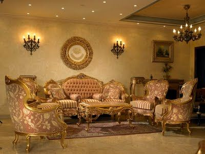 Coolest Gold Leaf Furniture Designs