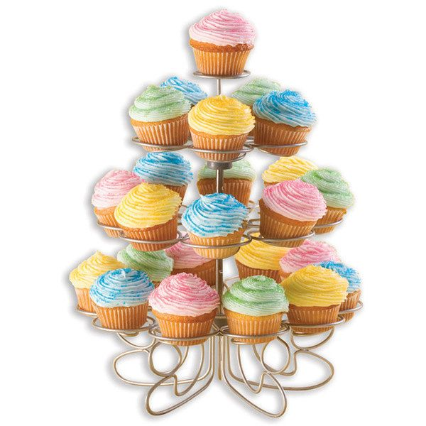 Metal Cupcake Stand Mini Dessert Muffin Display Rack Birthday Baby Wedding Shower Bridal Party Decorations Bakery Accessories Tools Supplies by TickleMyToesBoutique on Etsy