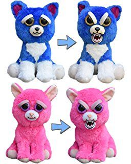 Feisty Pets Freddy Wreckingball The Blue Dog And Lady Monstertruck The Pink Cat Bundle Pets Cuddling Pink Cat Blue Dog