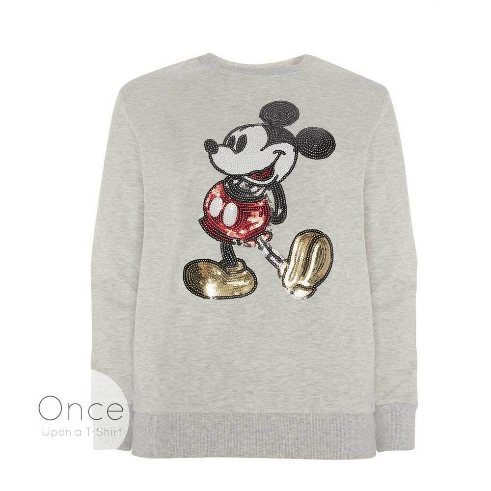 Primark Official Disney Mickey Mouse Sequin Jumper Sweatshirt Disney Sweatshirts Disney Wear Disney Outfits [ 1000 x 1000 Pixel ]