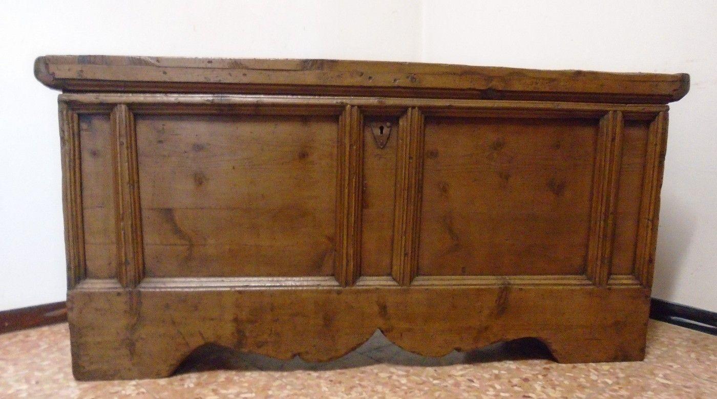 Arredamento Tirolese ~ Cassapanca prov. val pusteria antichità evelina vendita mobili
