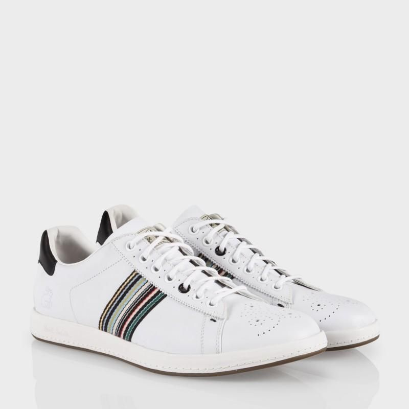For Mens Paul Smith Mens Shoes Rabbit Trainers White Shoes White