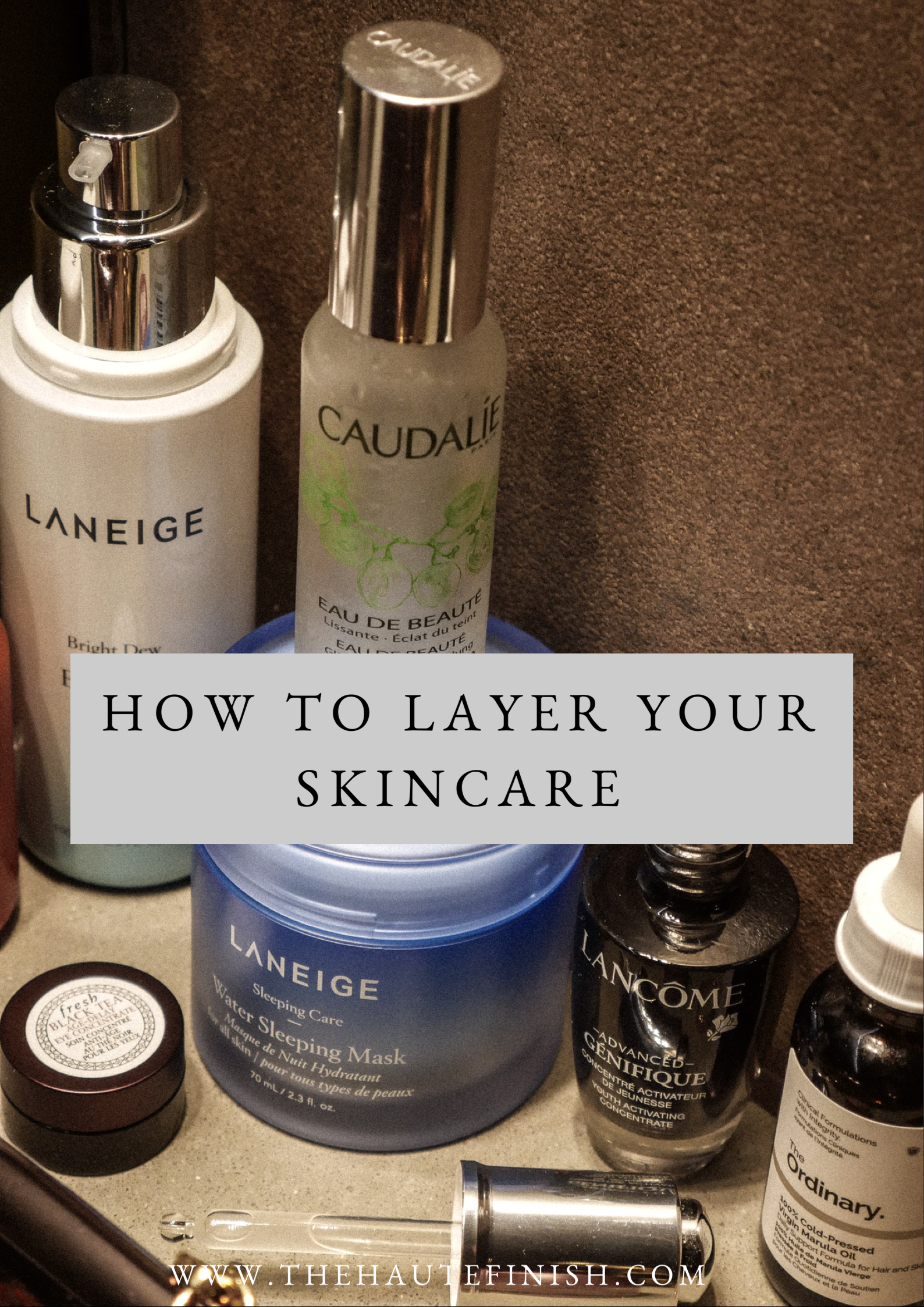 How To Layer Your Skincare Products In 2020 Skin Care Order Skin Care Facial Skin Care