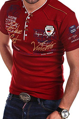 00e0d057 MT Styles 2in1 T-Shirt GLOBAL Polo R-2743 [Rot, 3XL] | embroidery ...