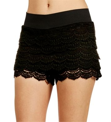 Just Bought These Black Crochet Shorts At Ross 10 Jaz Beauty