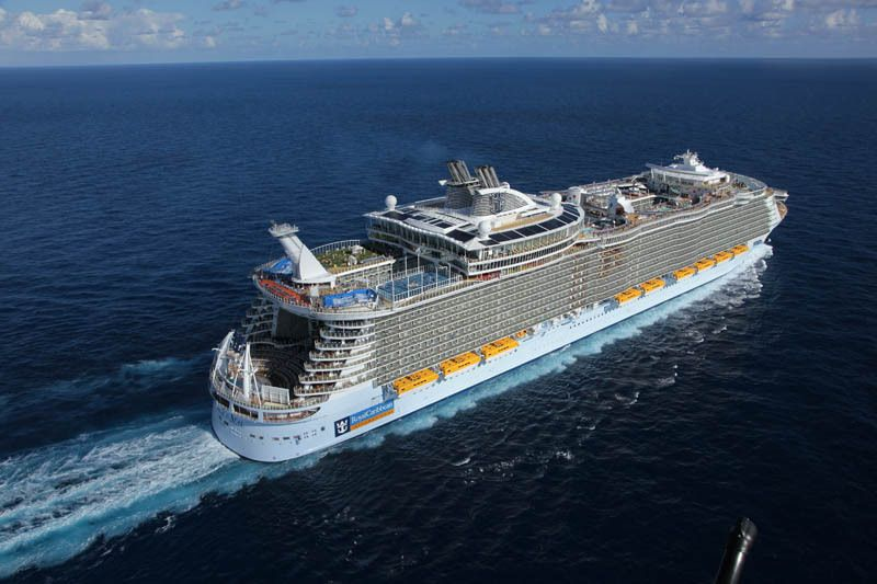 Worlds Biggest Cruise Ship Allure Of The Seas Royal Carribean - Biggest cruise ships