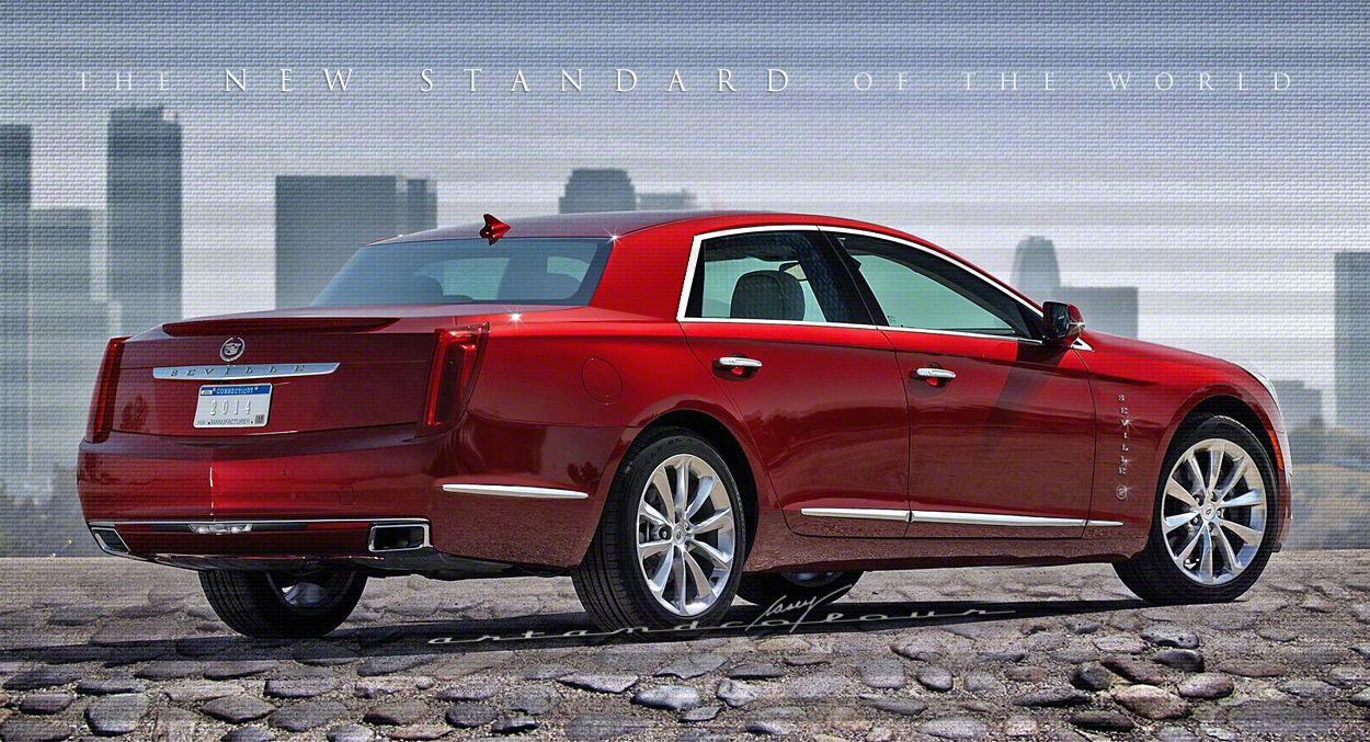 2014 Seville Renamed Lengthened Rwd Version Of The Xts Platform Auto Carros