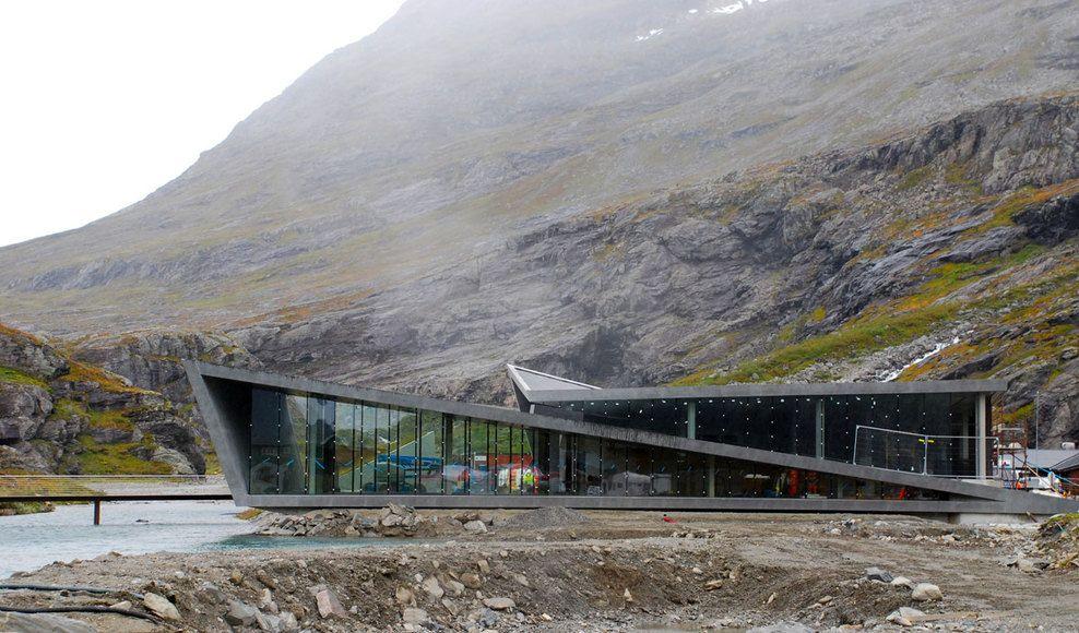 Trollstigen National Tourists Route. Trollstigen, Norway. Reiulf Ramstad Arkitekter