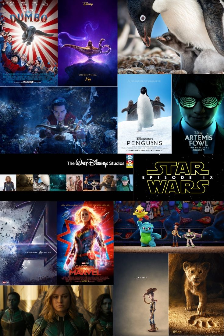 Walt Disney Studios Motion Pictures releases their slate