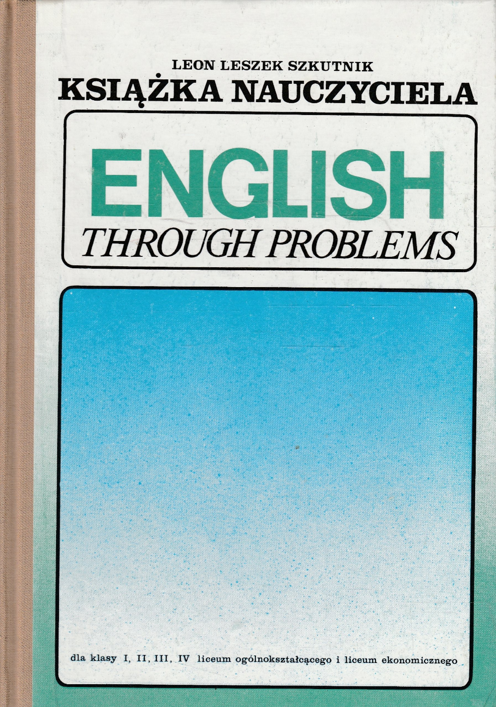 English Through Problems Ksiazka Nauczyciela Wsip 1979 Problem English