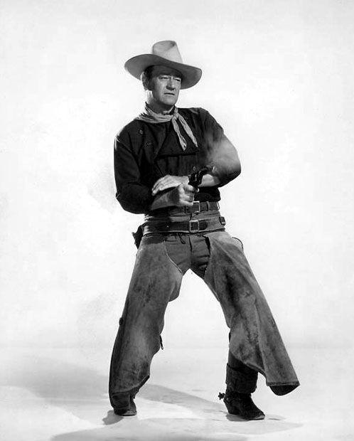 John Wayne-- The Man Who Shot Liberty Valance