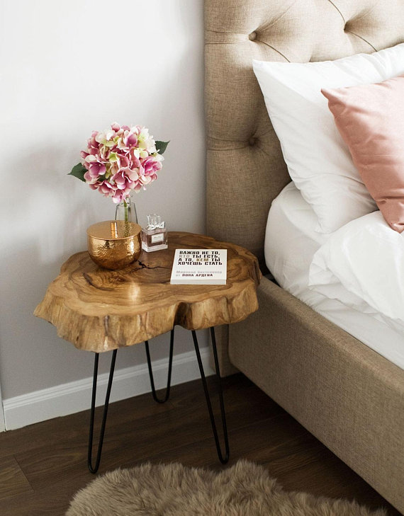Wood Slice Coffee Table.Tree Slice Coffee Table Nightstand Bedsidelive Edge Table Wood Slice