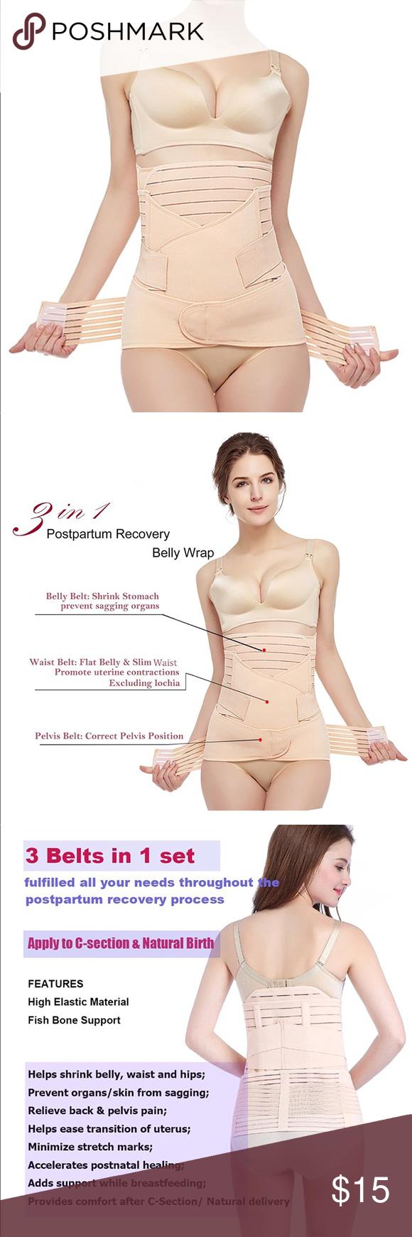 New Post Partum Girdle Waist Trainer Belly Wrap Post Partum Girdle Postpartum Belly