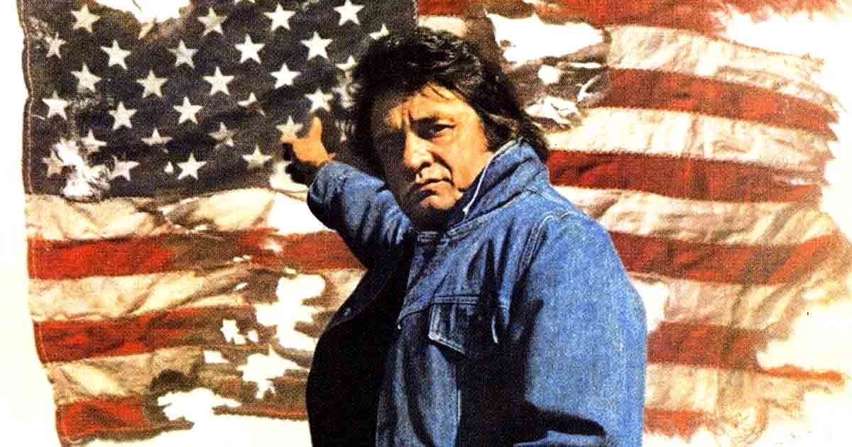 Johnny Cash Aimed To Revive Patriotism In The Country With Ragged Old Flag In 2020 Johnny Cash Show Johnny Cash Old Country Music