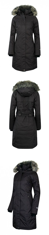 cb593372f COLUMBIA Women's Flurry Run Down Long Omni Heat Jacket Coat Hooded ...