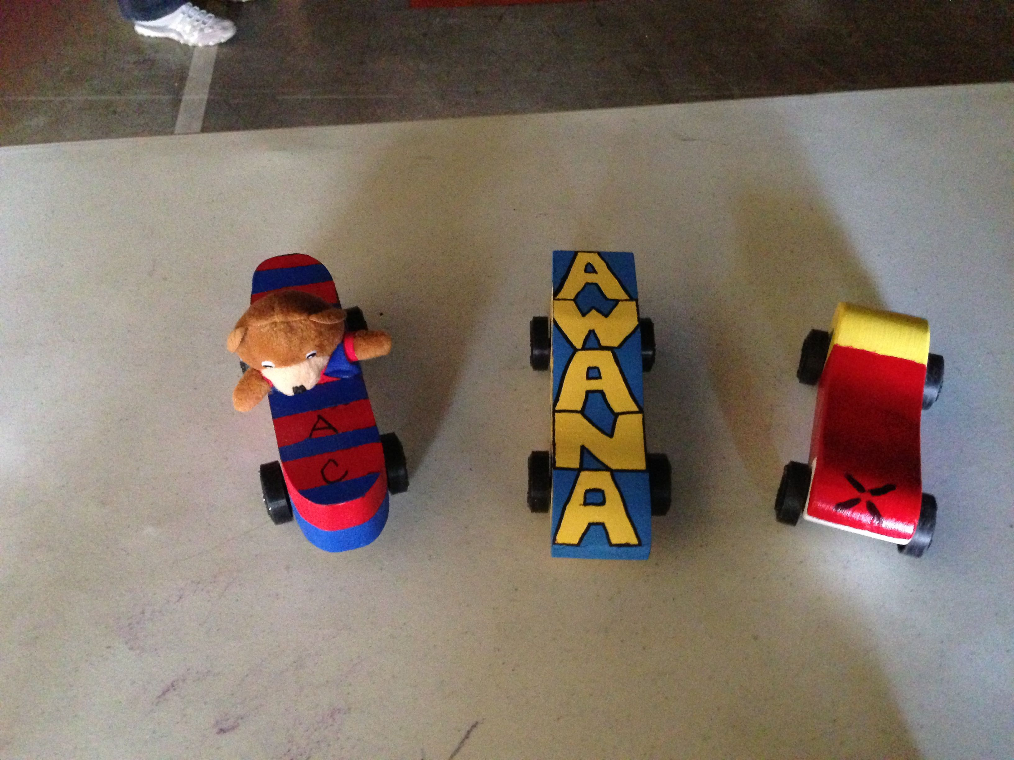 Awana Themed Grand Prix Cars With Images