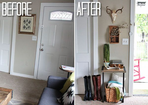 Creating An Entryway When You Don T Have One Creating An Entryway Living Room Remodel Open Concept Dining Room