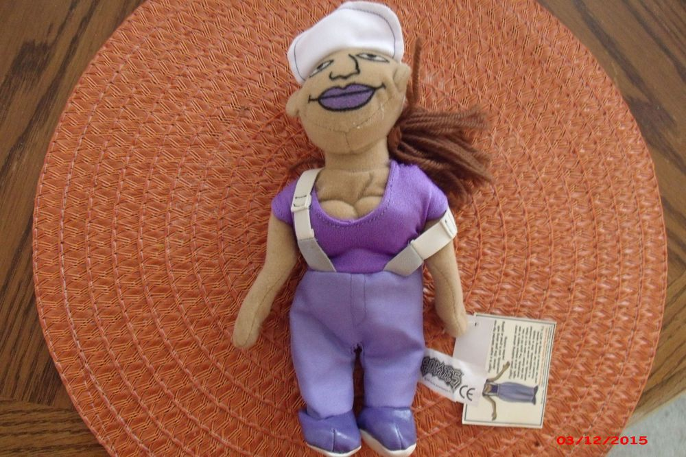 "NEW HOMIES ""FLYGIRL""  MINI PLUSH DOLL STUFFED TOY Lowrider Chicano Aztlan#Homies#Mijos"