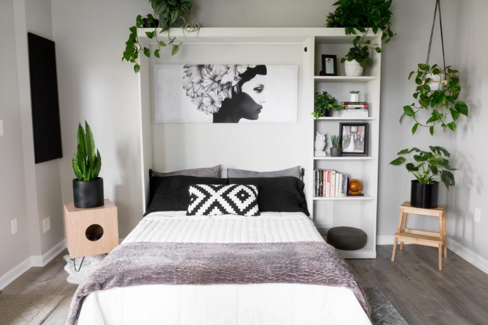 DIY Murphy Bed Plans // Murphy Bed Hardware Kit DIY in