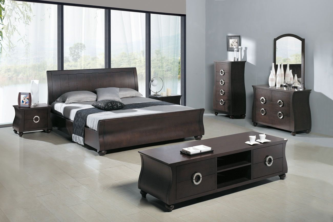Modern Bedroom Furniture Furniture Stunning Modern Bedroom Furniture With Tufted Bed