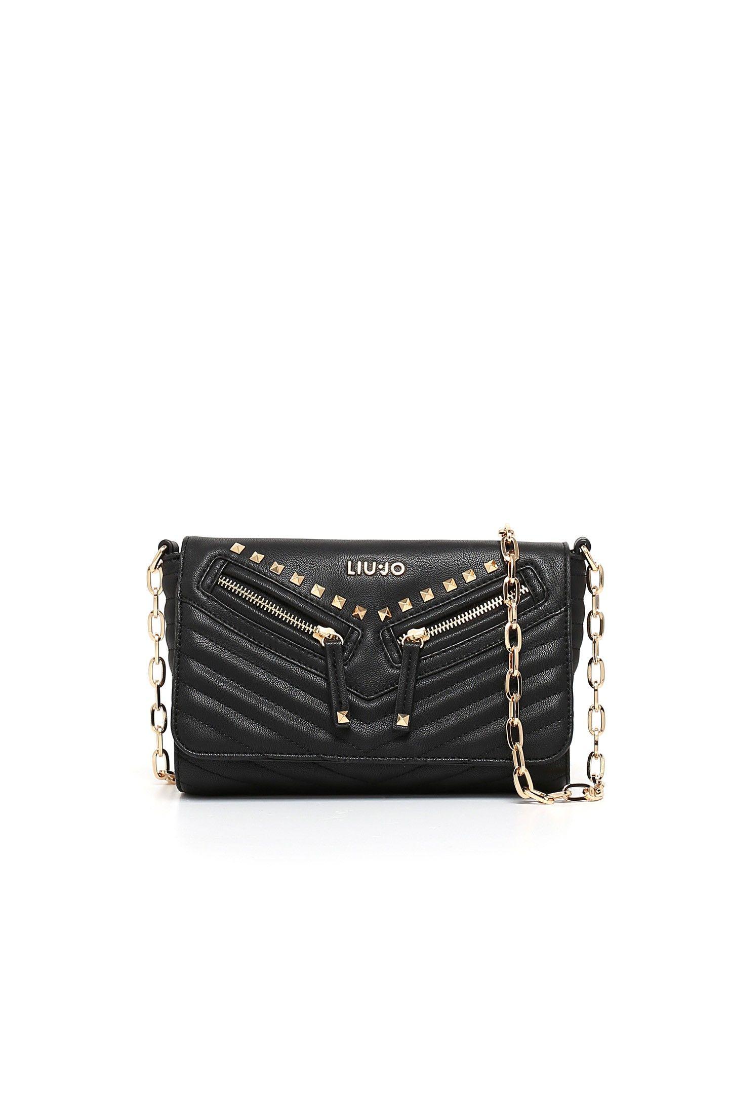 1233a29bd29b Liu Jo 'Saetta' Small Crossbody Bag in Black | Lyst | acc. | Small ...
