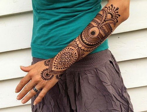 Mehndi Tattoos For Arm : Geometric henna google search mehndi pinterest