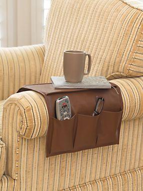 Sofa Armchair Organizer Chair Caddy Couch Pocket Gold Violin