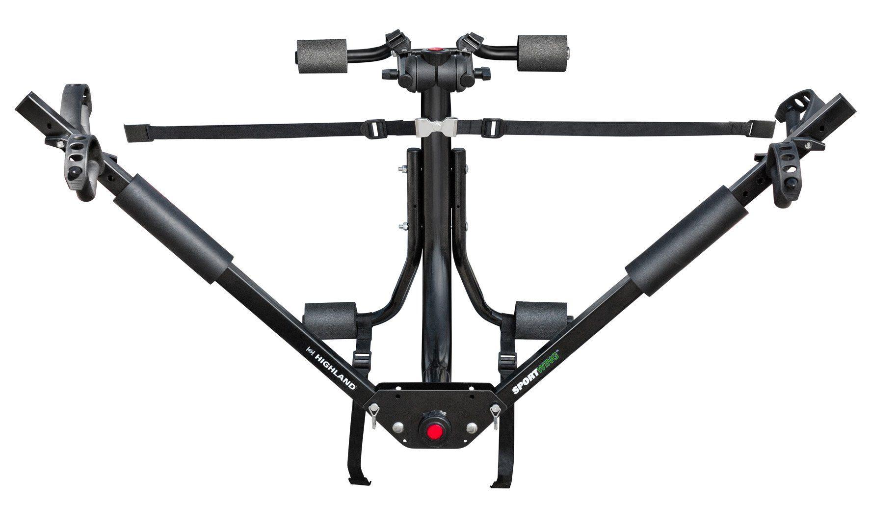 Highland (1378000) SportWing Trunk Mount Bike Rack Trunk