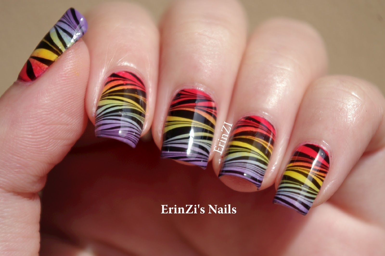How to do the water marble technique | Nails | Pinterest | Marbles ...