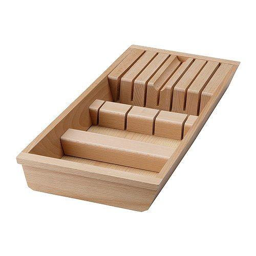 ikea rationell range couteaux pour tiroir se place dans le tiroir afin de voir les couteaux. Black Bedroom Furniture Sets. Home Design Ideas