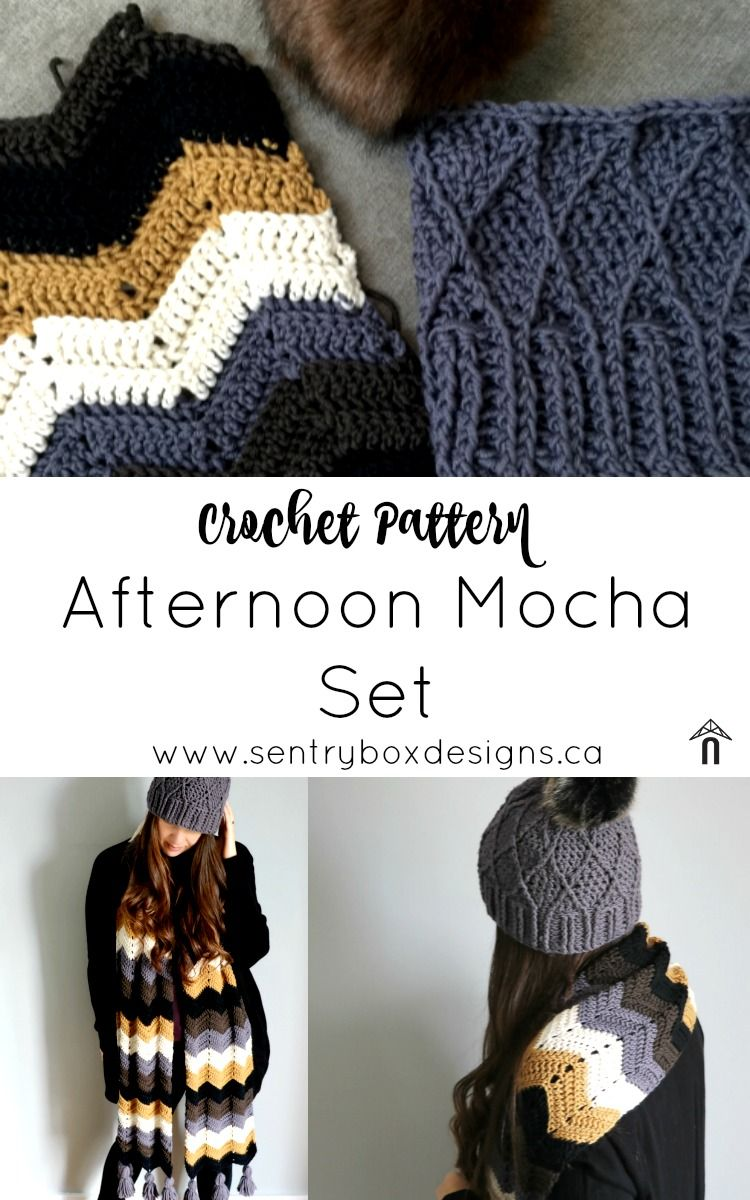 Hat and Scarf Kits for Fall | Pinterest | Tejido