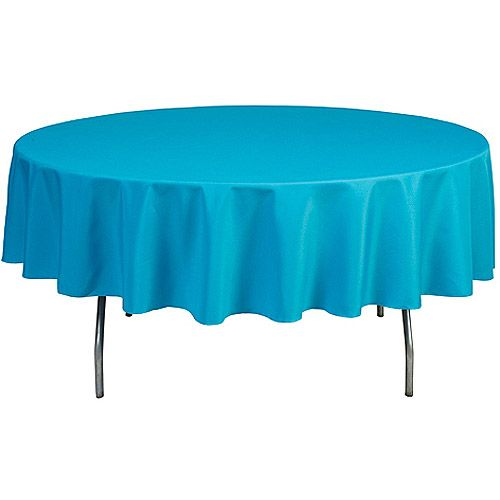 Shindigz Round 90 Polyester Tablecloth Walmart Com Round Table Covers Table Cloth Table Covers