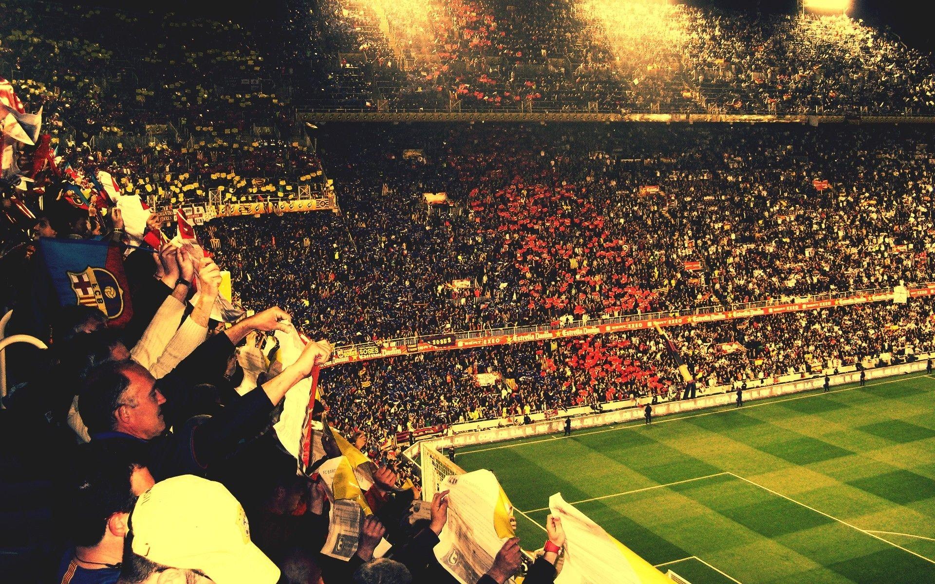 Pin By Brandon Saltedviper On Brandon Khoo Flags Banners Stadium Wallpaper Barcelona Soccer Soccer Stadium