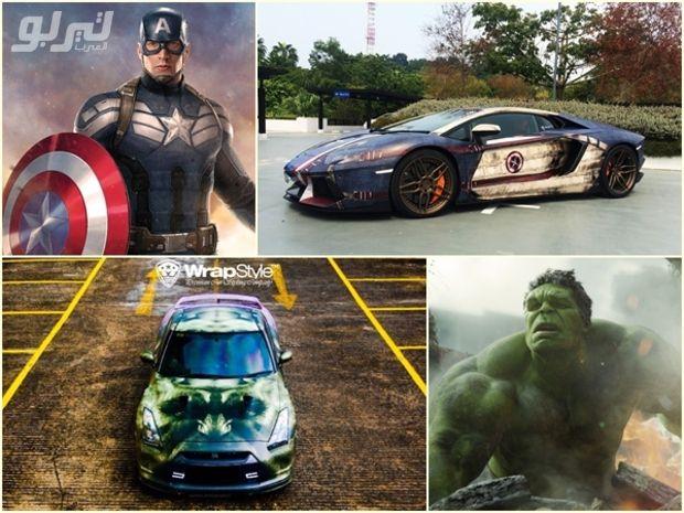 صور كيف سيكون شكل سيارات أبطال السينما الخارقين موقع تيربو العرب Toy Car Car Racing