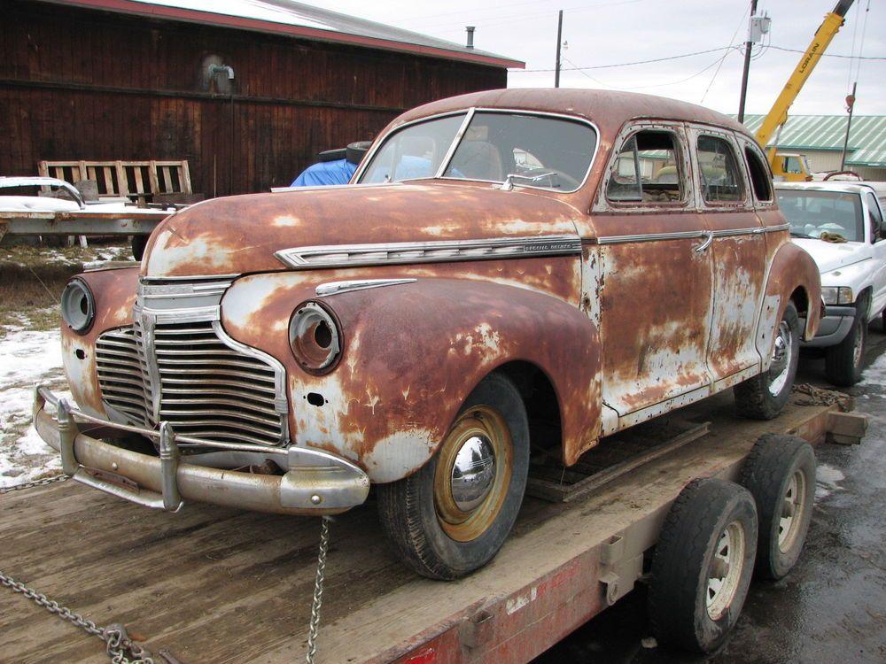 1941 Chevrolet Special Deluxe 4 Door Sedan Coupe