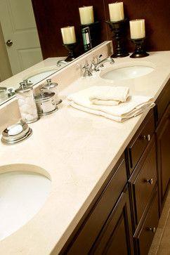 Crema Marfil Marble Vanity Traditional Bathroom Boston Marble Bathroom Traditional Bathroom Black Marble Bathroom